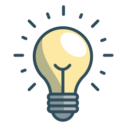 Bulb Icon Office Iconset Vexels
