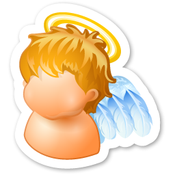 http://icons.iconarchive.com/icons/visualpharm/magnets/256/angel-icon.png