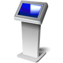 Touch-screen-kiosk icon