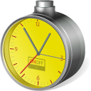 Low cost clock icon