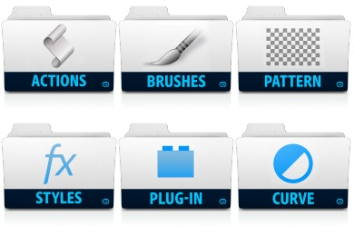 Adobe Folders Icons