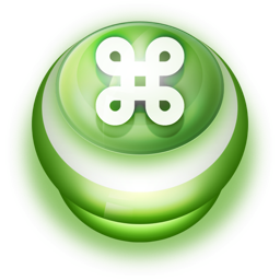 Button Green Commandkey icon