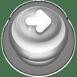 Button Grey Arrow Right icon