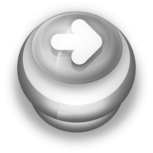 Button Grey Arrow Right icon