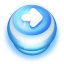 Button Blue Arrow Right icon