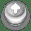 Button-Grey-Arrow-Up icon