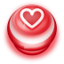 Button-Red-Love-Heart icon