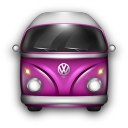 VW Bulli Purple icon