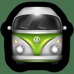 VW Bulli Green White icon