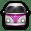 VW Bulli Purple White icon