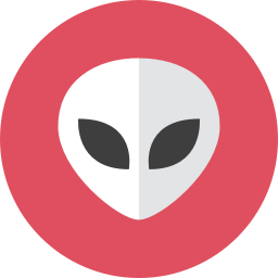 Alien Icon Kameleon Iconset Webalys