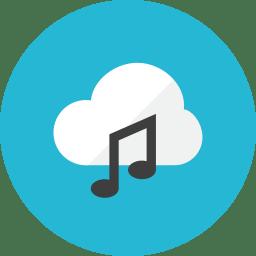 Cloud Music Icon Kameleon Iconset Webalys