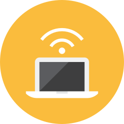 Laptop Signal icon