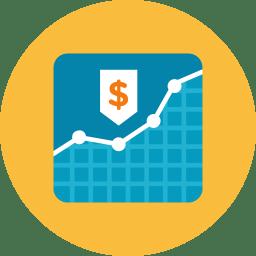 Money Graph Icon Kameleon Iconset Webalys