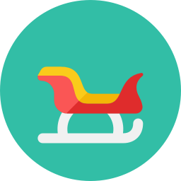 Santa Sled icon