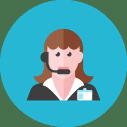 Telemarketer Woman 2 icon