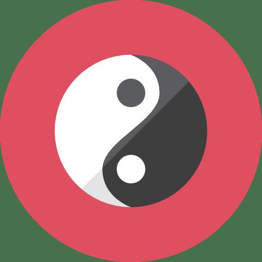 yin yang icon | kameleon iconset | webalys