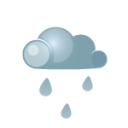 Day darkcloud heavyrain icon