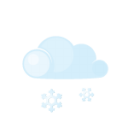 Day lightcloud sleet icon