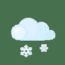 Day lightcloud sleet icon