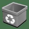 Trash-grey-empty icon