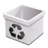 Trash-milk-empty icon