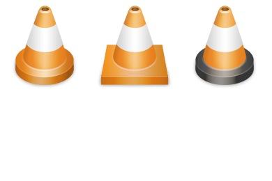 VLC Cones Icons