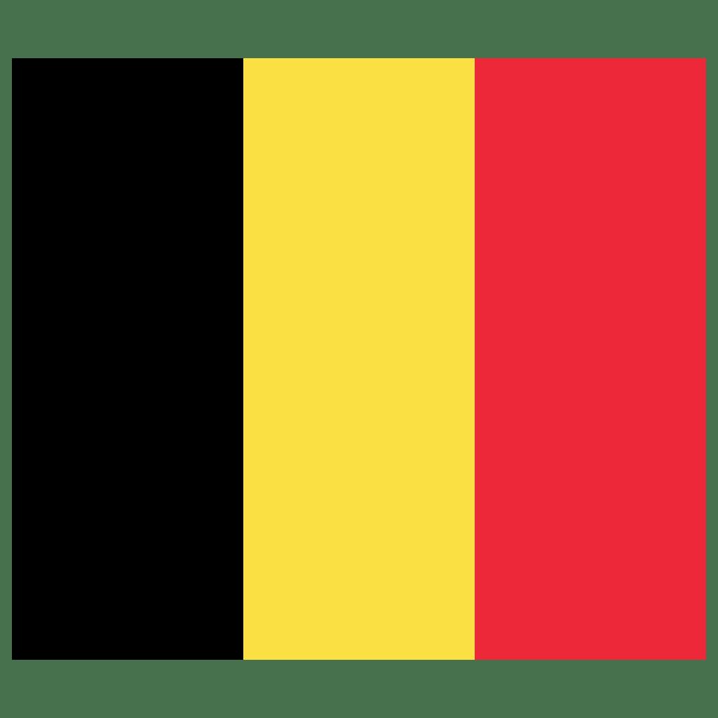 BE Belgium Flag Icon   Public Domain World Flags Iconset   Wikipedia Authors