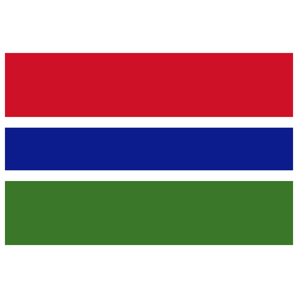 Gm Gambia Flag Icon Public Domain World Flags Iconset Wikipedia Authors