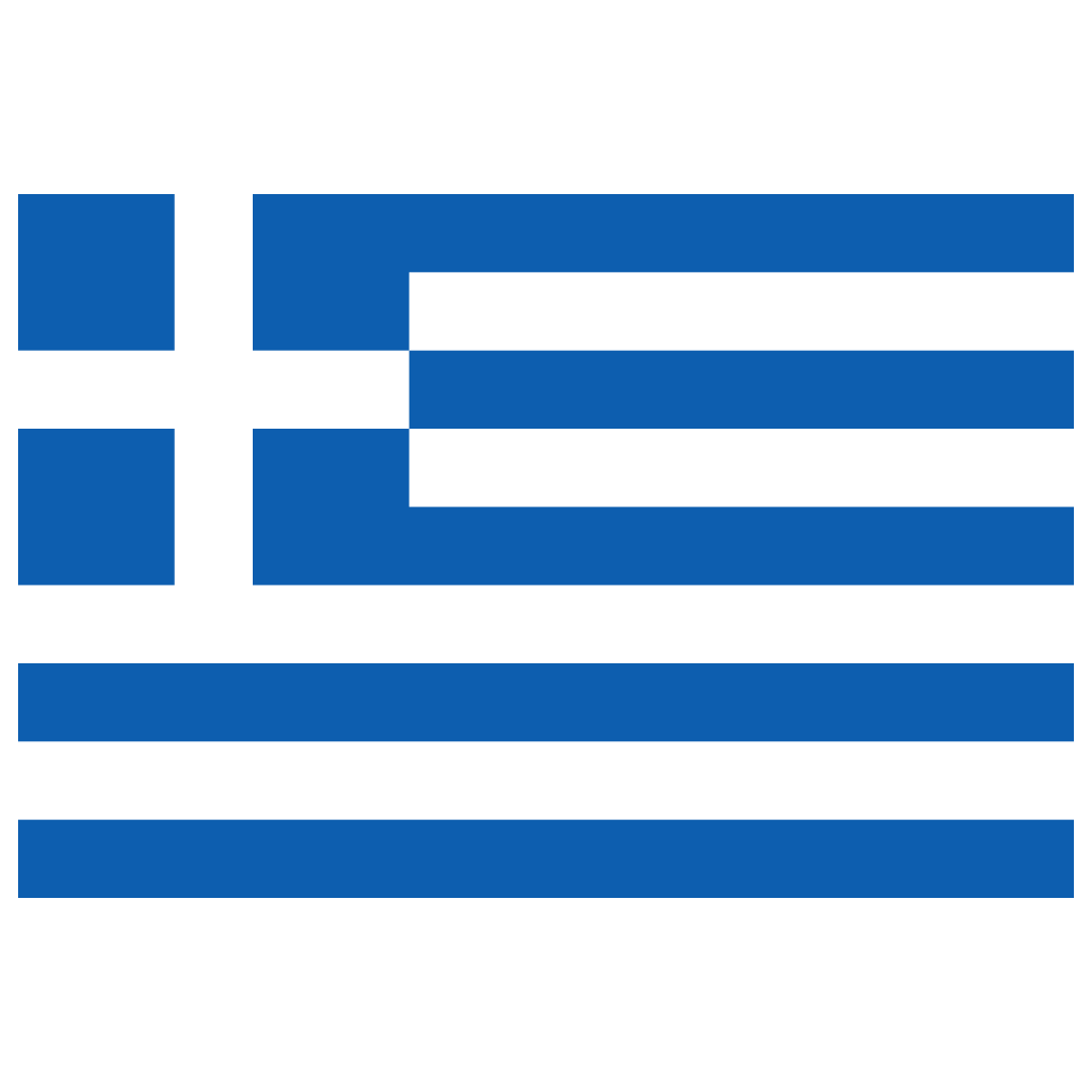 GR Greece Flag Icon   Public Domain World Flags Iconset ...