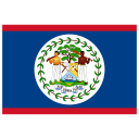BZ Belize Flag icon