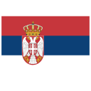 RS Serbia Flag icon