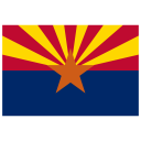 US AZ Arizona Flag icon