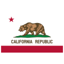 US CA California Flag icon
