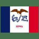 US IA Iowa Flag icon