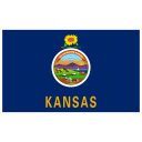 US KS Kansas Flag icon