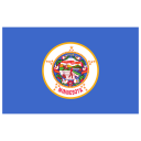 US MN Minnesota Flag icon