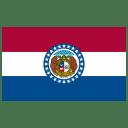 US MO Missouri Flag icon