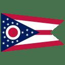 US OH Ohio Flag icon