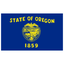 US OR Oregon Flag icon