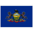 US PA Pennsylvania Flag icon