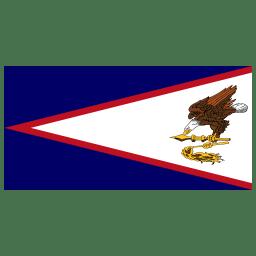 AS American Samoa Flag icon