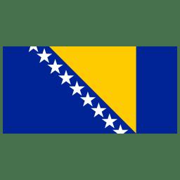 BA Bosnia and Herzegovina Flag icon
