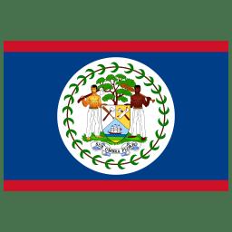 BZ Belize Flag icon