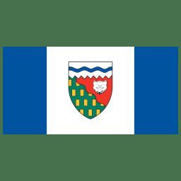 CA NT Northwest Territories Flag icon