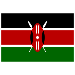 KE Kenya Flag icon