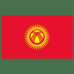 KG Kyrgyzstan Flag icon