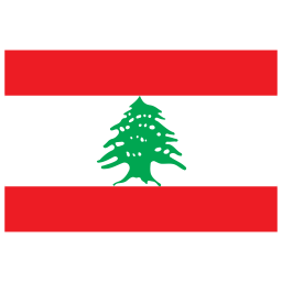 LB Lebanon Flag icon