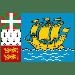 PM Saint Pierre and Miquelon Flag icon