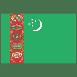 TM Turkmenistan Flag icon